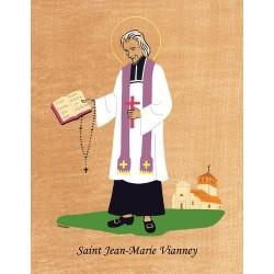 Cadre Saint Jean Marie Vianney - Venière