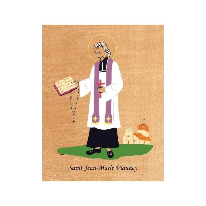Cadre saint jean marie vianney veni re comptoir religieux - Comptoir de famille st jean de soudain ...