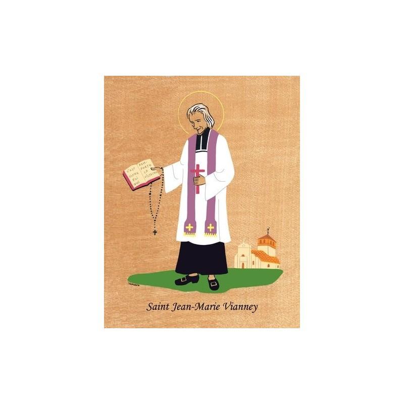 Cadre saint jean marie vianney veni re comptoir religieux - Vianney prenom ...