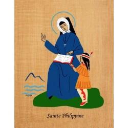 Cadre Sainte Philippine - Abbaye Venière