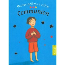 40 petites cartes prières à offrir communion - Mame