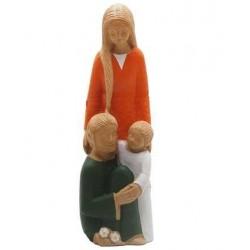 Statue Yves le Pape - Sainte Famille
