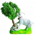 Chèvre qui broute  - Santon Marcel Carbonel