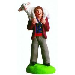 Santon de provence Marcel Carbonel - Homme au mouton