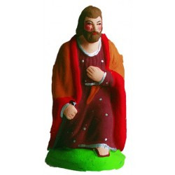 St Joseph à genou - Santon Marcel Carbonel