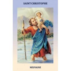 Livret de neuvaine à Saint Christophe