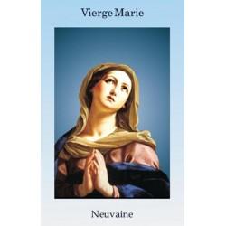 Livret de neuvaine à la Vierge Marie