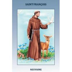 Livret de neuvaine à Saint François d'Assise