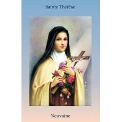Livret de neuvaine à Sainte Thérèse