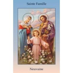 Livret de neuvaine à la Sainte Famille