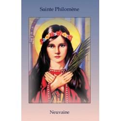 Livret de neuvaine à Sainte Philomène