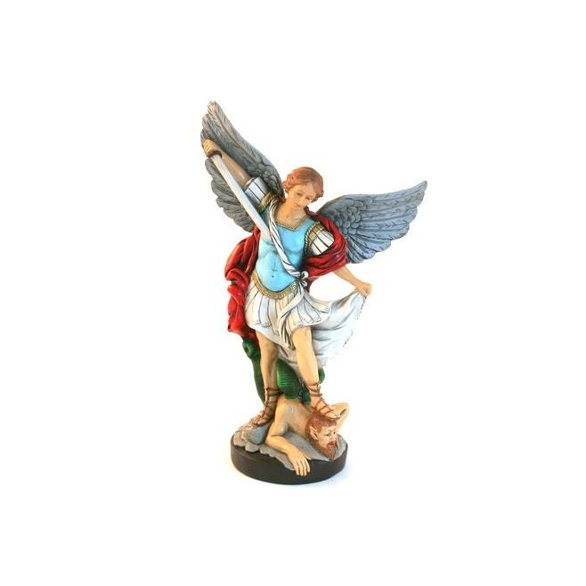 Statue religieuse de Saint Michel 30cm