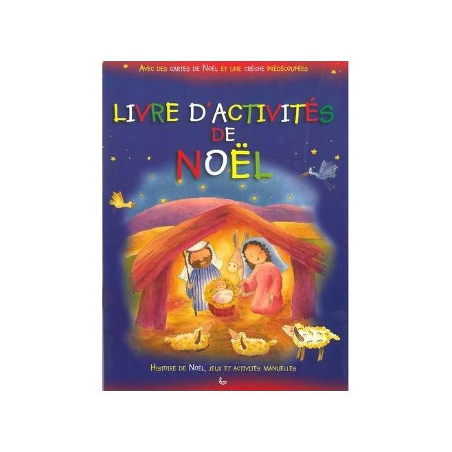 Livre d'activités de Noël - Edition La ligue
