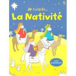 Je colorie... La nativité - Edition Usborne