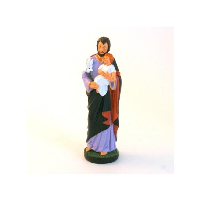 Statue religieuse Saint Joseph 16cm