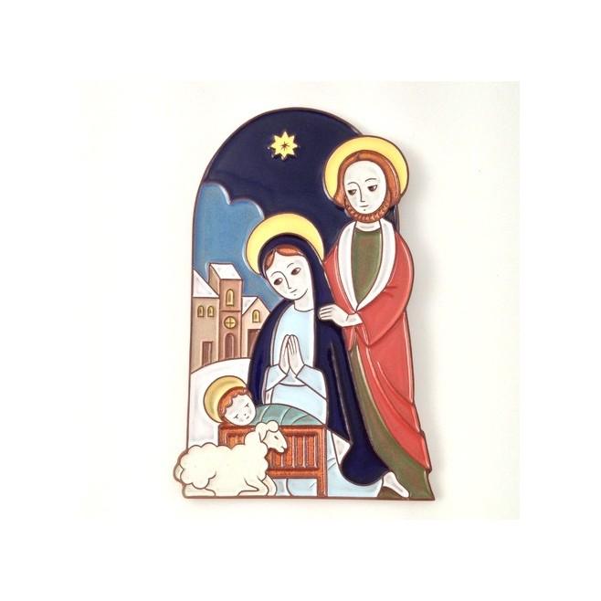 Nativité - Crèche de Noël en céramique