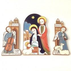 Nativité complète- Crèche de Noël en céramique