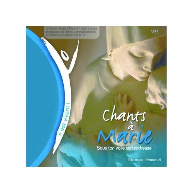 CD Il est vivant ! Chants à Marie  - Éditions de l'Emmanuel