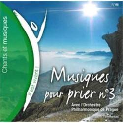 CD Il est vivant ! Musiques pour prier n¡ 3 - Avec l'Orchestre Philharmonique de Prague - Éditions de l'Emmanuel