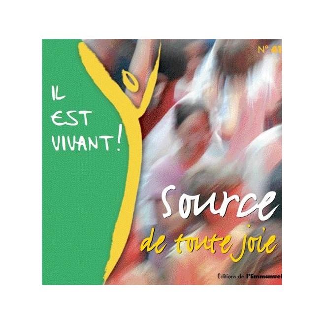 CD Il est vivant ! Source de Toute Joie - Éditions de l'Emmanuel