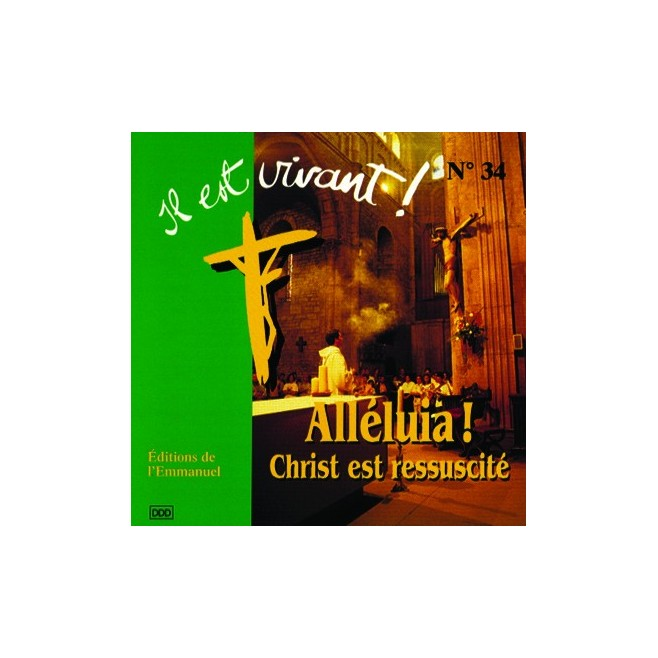 CD Il est vivant ! Alleluia Christ est ressuscite - Éditions de l'Emmanuel