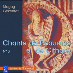 CD 3 Psaumes et cithare - Éditions de l'Emmanuel