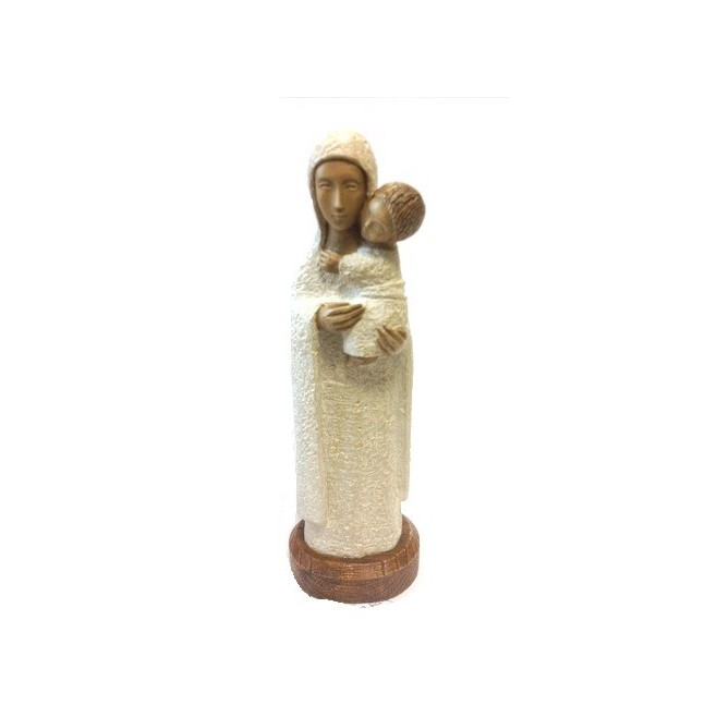 Vierge Eleousa blanche - Soeurs de Bethleem