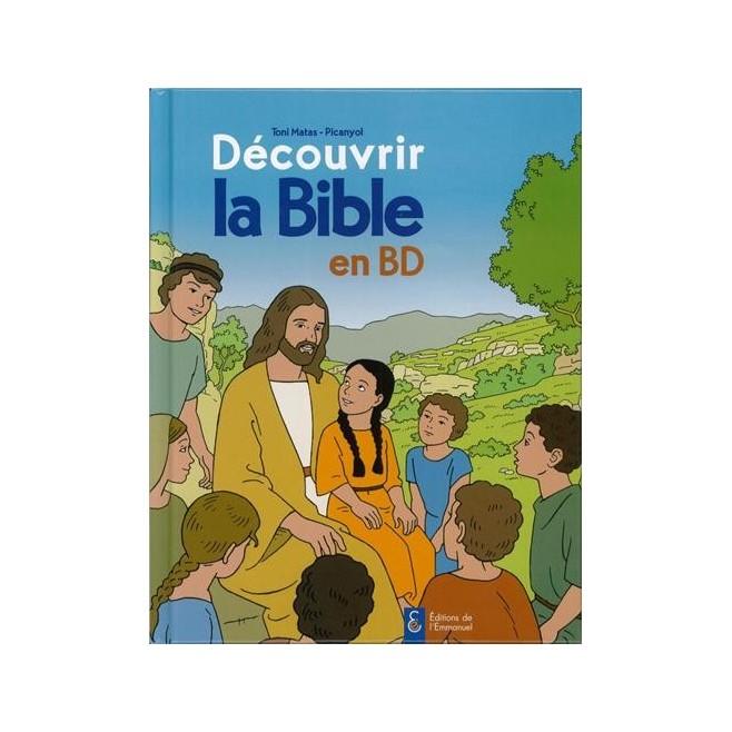 Découvrir la bible en BD - Ancien et nouveau testament - Éditions de l'Emmanuel