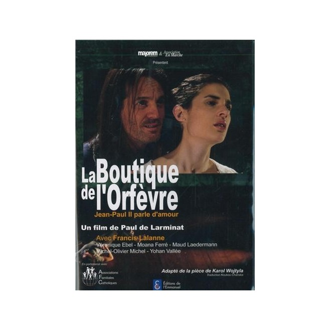 DVD La boutique de l'Orfèvre - Jean Paul II parle d'amour - Éditions de l'Emmanuel