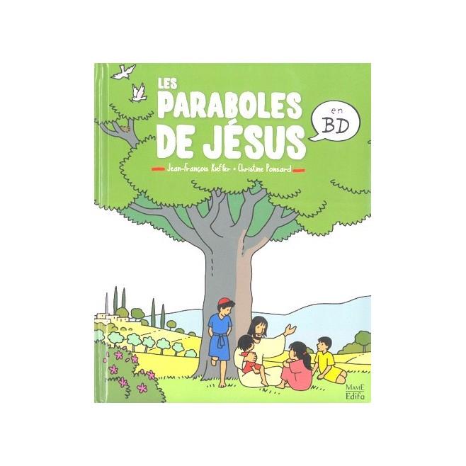 Les paraboles de Jésus en BD - Editions Mame