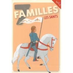 Jeu de 7 familles religieux - les Saints