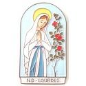 """Cadre en céramique """"Notre Dame de Lourdes"""""""