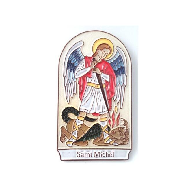 """Cadre en céramique """"Saint Michel"""""""