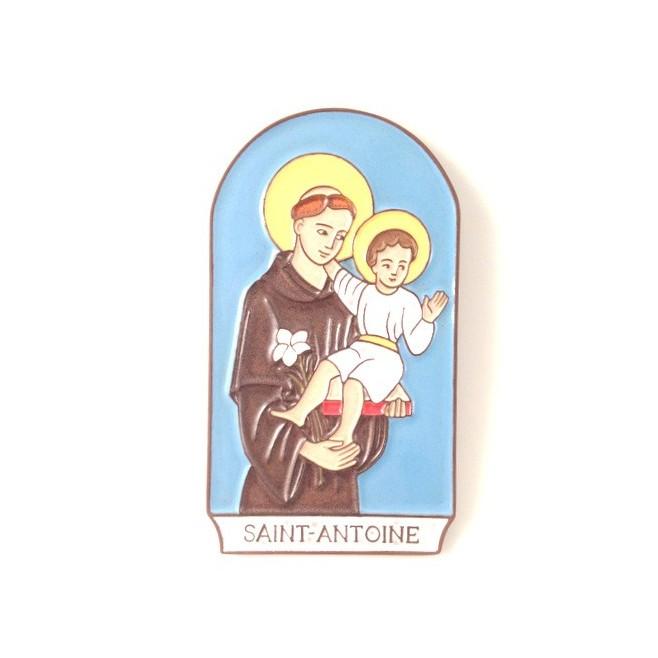 """Cadre en céramique """"Saint Antoine de Padoue"""""""