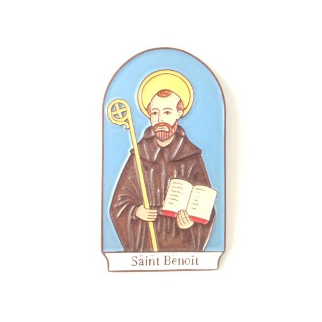 """Cadre en céramique """"Saint Benoit"""""""