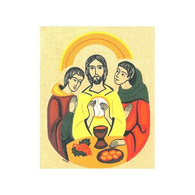 Cadre les disciples d'Emmaus - Abbaye Venière