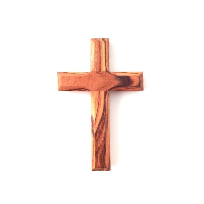 Croix d'Aube en bois d'olivier véritable