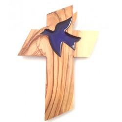 Croix en Olivier - Colombe