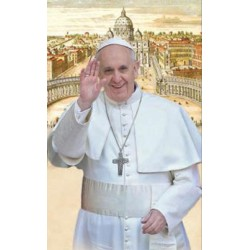 Carte postale du Pape François St PIerre de Rome- 10x15cm