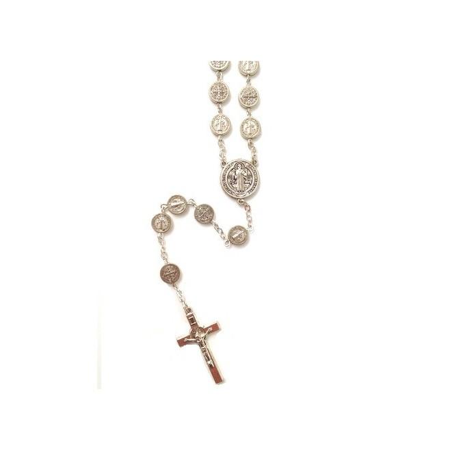 Chapelet médailles Saint Benoit