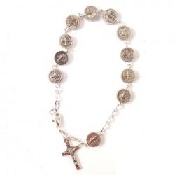Bracelet de médailles de Saint Benoit