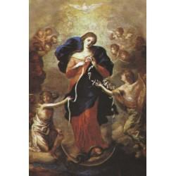 Image de Marie qui défait les noeuds - 7x12cm