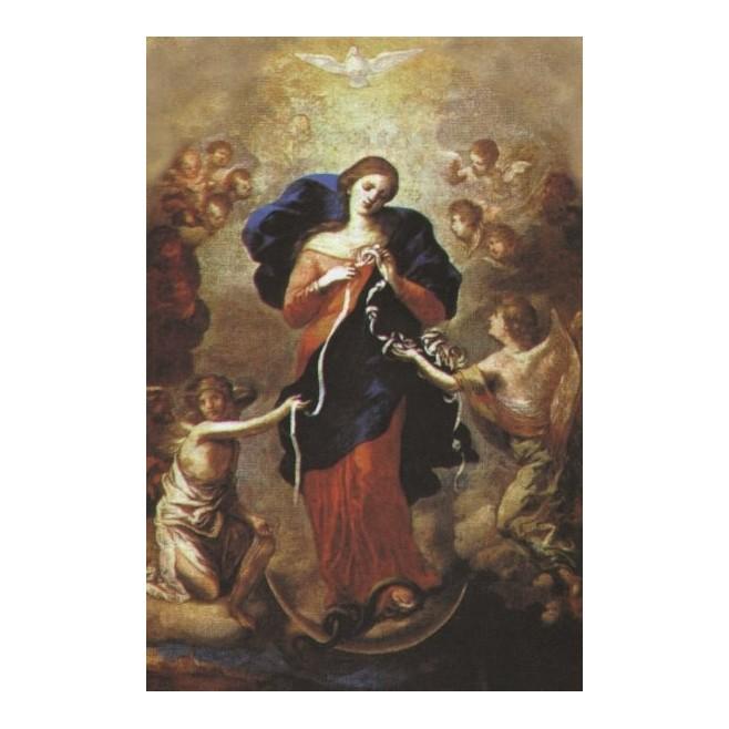 lot de 10 images de Marie qui défait les noeuds - 7x12cm