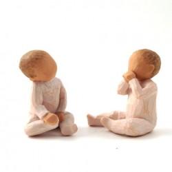 Enfant Willow Tree - Deux ensemble