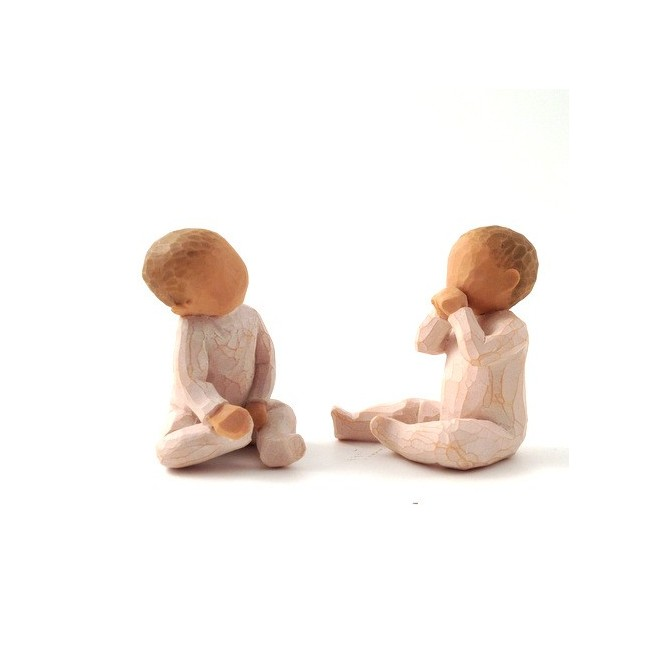 Enfant Willow Tree - Deux ensemble