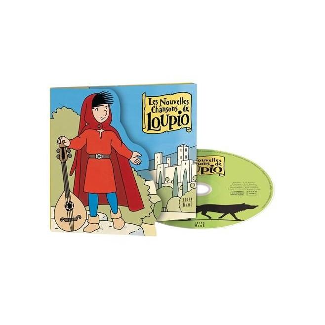 CD : les nouvelles chansons de Loupio
