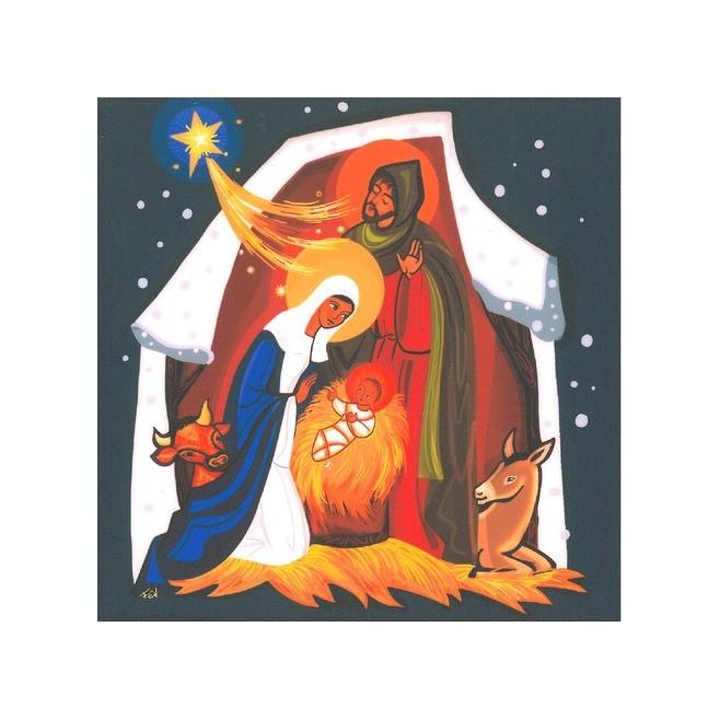 Cadre Crèche à l'étoile - Aabbye de Venière