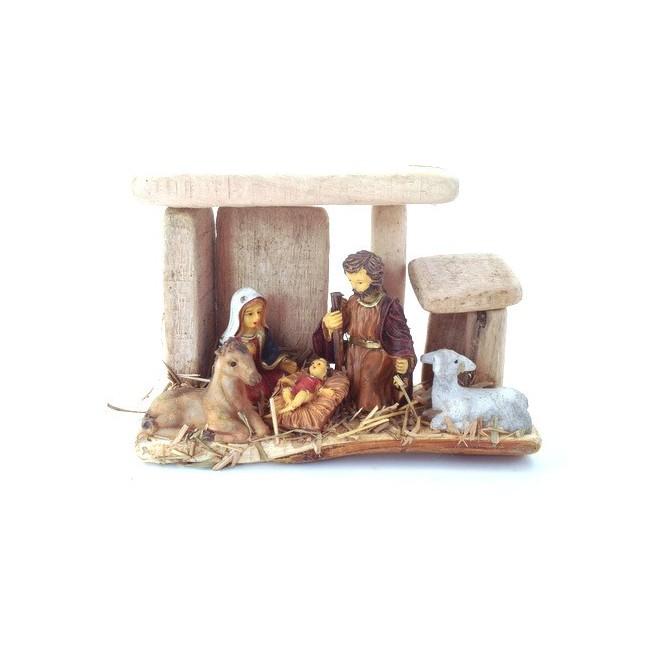 Creche de Noel avec étable