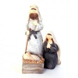 Sainte famille de Noel moderne
