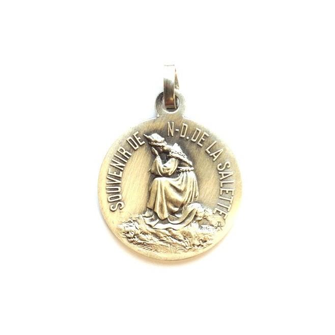 Médaille Notre Dame de la Salette en pleurs